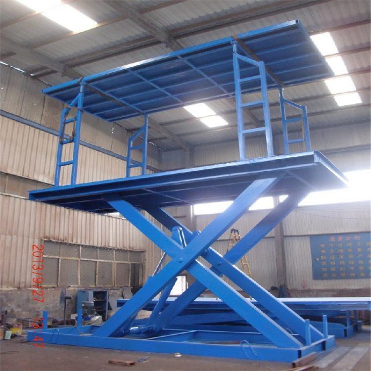 TRJX--SJD导轨式升降机 楼层液压货梯 液压升降平台甘肃升降机