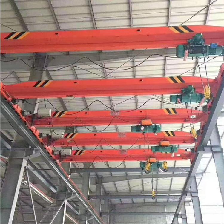 支持定制电动单梁起重机 多种规格5吨10吨单梁桥式起重机电动单梁悬挂起重机
