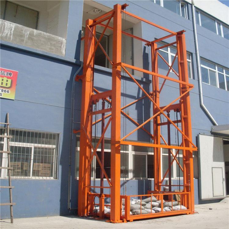 升降货梯 导轨式升降货梯液压升降货梯生产定制液压货梯